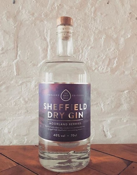 Sheffield Dry Gin Moorland Berries