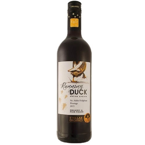 RUNNING DUCK PINOTAGE NO ADDED SULPHUR VEGAN ORGAN