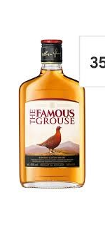 Famous Grouse Scotch Whisky 35Cl