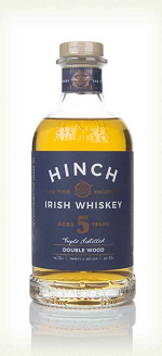HINCH 5YR DOUBLEWOOD IRISH WHISKEY