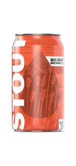 Big Drop Stout Can Low Alcohol Beer