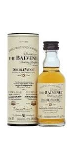 BALVENIE Doublewood 12Yr Single Malt Whisky Miniat