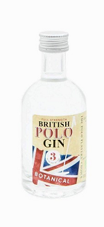 BRITISH POLO GIN Miniature