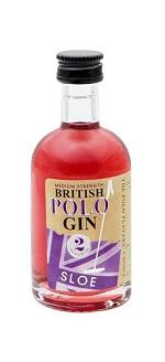British Polo Sloe Gin Miniature