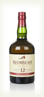 REDBREAST 12YR IRISH POT STILL WHISKEY