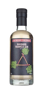 Boutique y Gin Rhubarb Triangle