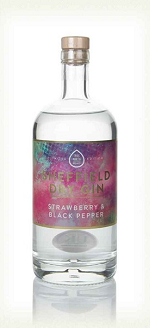 Sheffield Strawberry & Black Pepper Dry Gin