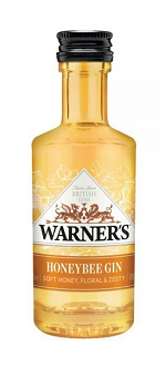WARNER HONEY BEE GIN Miniature