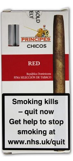 La Aurora Principes Chicos Red Cigars 5pk