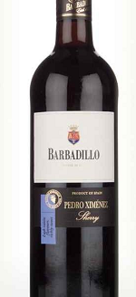 Barbadillo Pedro Ximénez Sherry