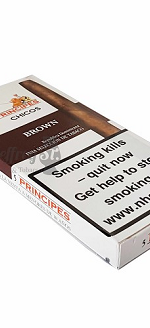 La Aurora Principes Chicos Brown Cigars 5pk
