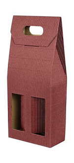 Wine Bottle Double Gift Box