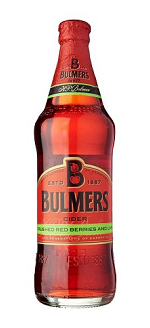 BULMERS CRUSHED RED BERRIES & LIME CIDER