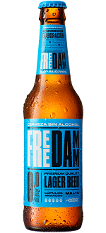 FREE DAMM  ALCOHOL FREE BEER