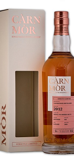 Carn Mor Glenburgie 8 Year 2012 - Strictly Limited