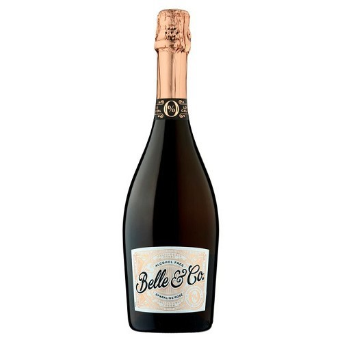 Belle & Co Alcohol Free Sparkling Rose Wine