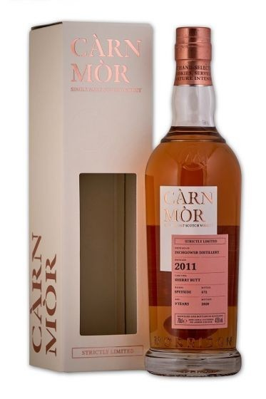 Carn Mor Inchgower 9  year 2011 - Strictly Limited