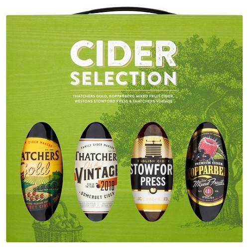 MIXED CIDER SELECTION £10