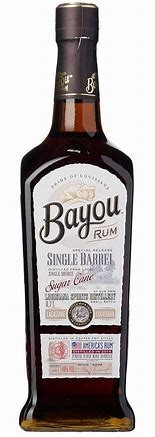 Bayou Single Barrel Sugar Cane Rum